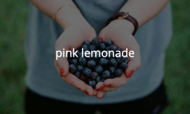 ピンクレモネード